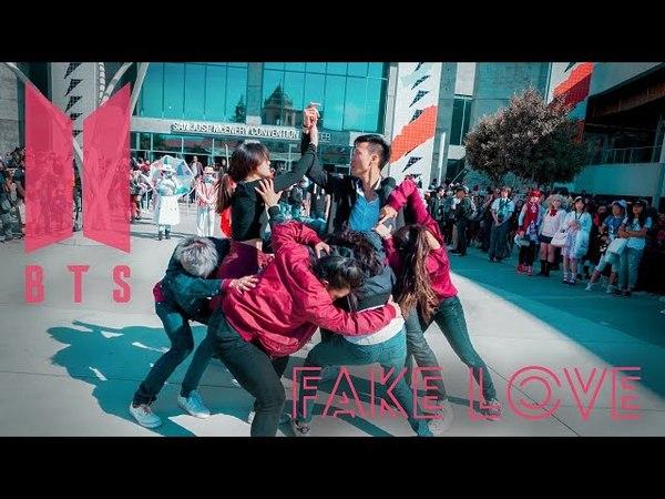 [KPOP IN PUBLIC CHALLENGE] BTS (방탄소년단) - FAKE LOVE Full Dance Cover at Fanime 2018 [Eclipse K-Pop]