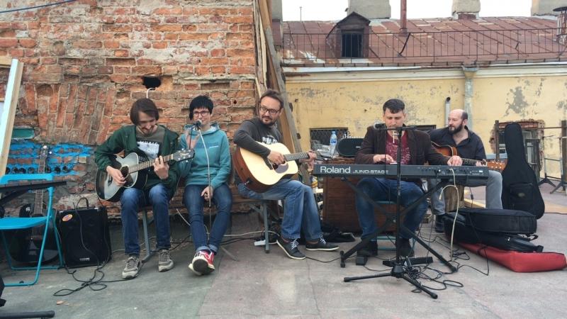 БГ-party на крыше MOKUM — Live