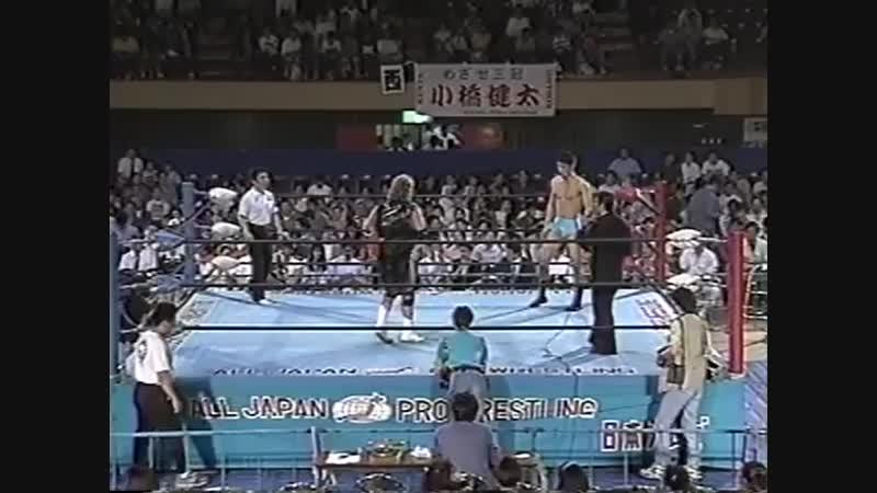 1994.05.31 - Bobby Fulton vs. Kentaro Shiga [JIP]