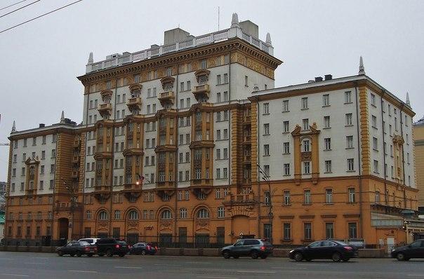 Так выглядит здание посольства сша