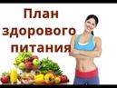 План здорового питания на каждый день Ежедневный рацион питания человека
