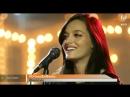 Oriana cantando en Basta de Todo Entrevista