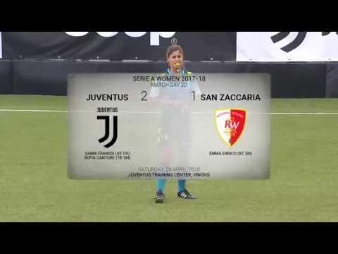 HIGHLIGHTS: Juventus Women vs Ravenna Woman 2-1 | 28.4.2018