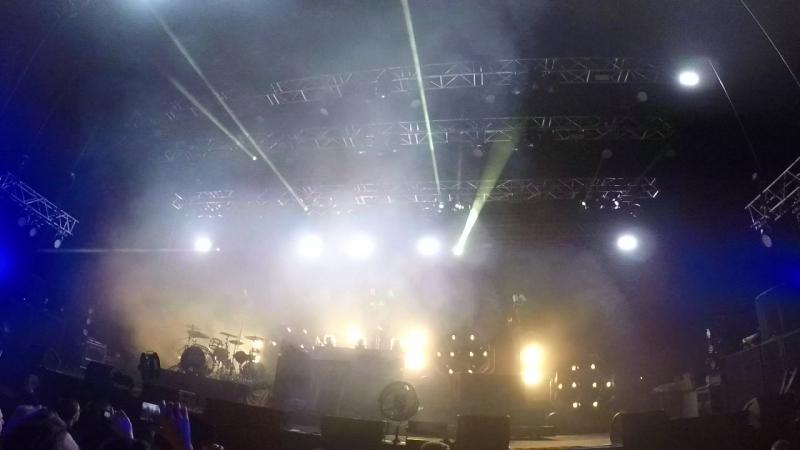 The Prodigy live 18.03.18 St.Peterburg - Intro - Omen