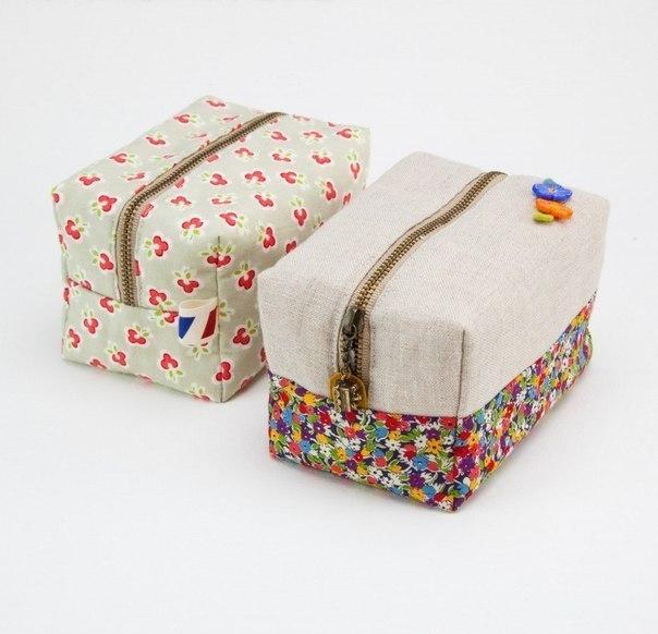 Коробочка из ткани. (9 фото) - картинка