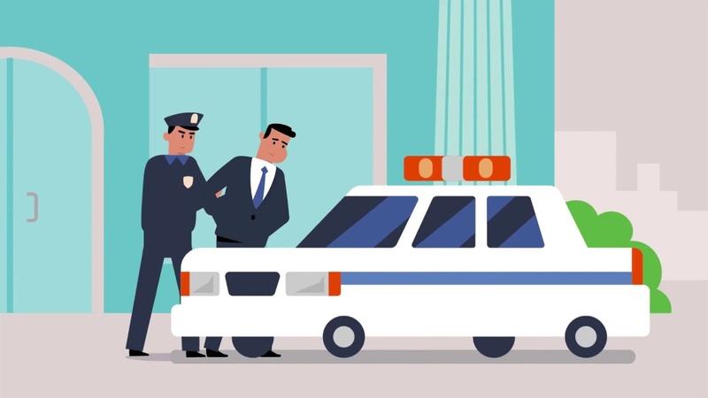 Анимационная видеопрезентация для системы безопасности банка /MoGraph for Bank security system