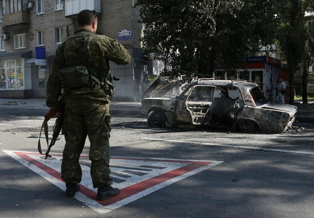 Удар по мирным кварталам