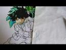 Drawing - Boku No Hero Academia Season 3 (class A)