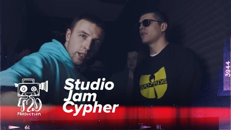 Studio Jam Cypher 5 (Тулим, Падваротня, НКНКТ, Donny, Тихон)