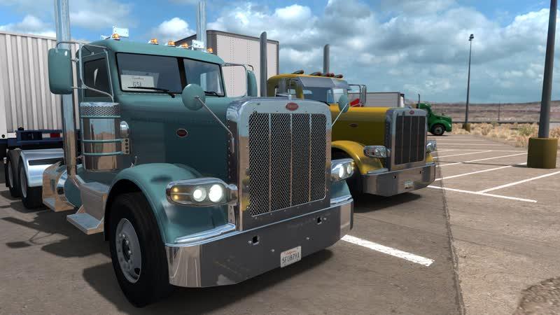 ATS ⏩ American Truck Simulator ⏪ TruckersMP ☑ Первый конвой по дорогам Америки
