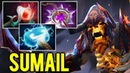 SUMAIL Clinkz Maelstrom Build - Intense Game with Burning Army