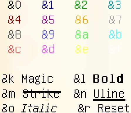 Как сделать клан в minecraft цветным