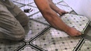 Подрезка плитки при укладке по диагонали. Классный и простой способ!