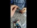 Лего собираем в поезде с сыном