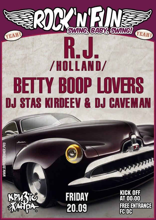 20.09 R.J. & Betty Boop Lovers в клубе Кризис Жанра