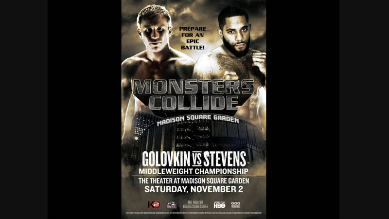 Геннадий Головкин vs Кёртис Стивенс (Gennady Golovkin vs Curtis Stevens) 02.11.2013