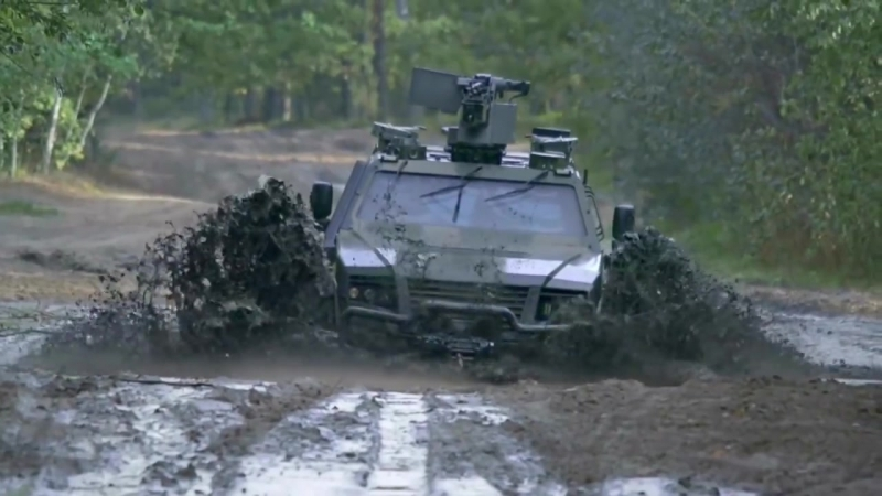 Rheinmetall Defence KMW - Armoured Multi-Purpose Vehicle