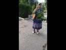 цветочек в ударе