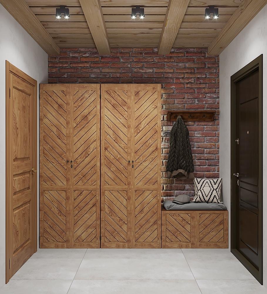 Дизайн-проект загородного дома 304 кв.