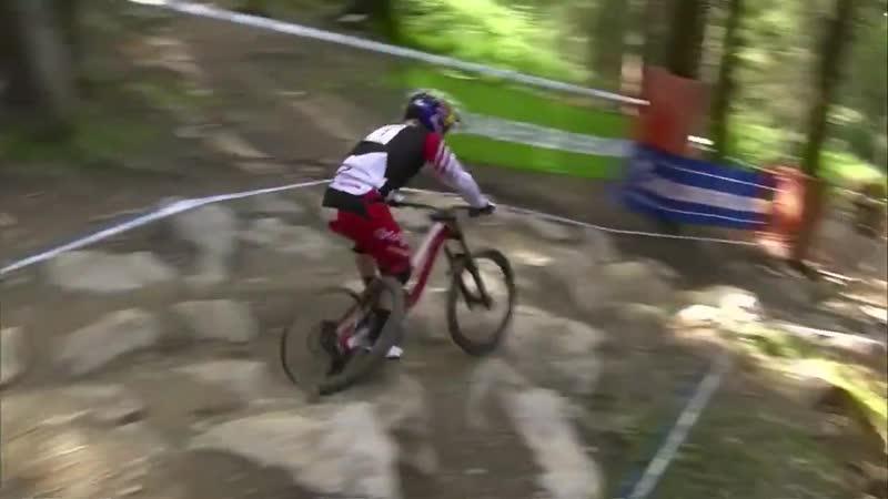 Даунхилл без велосипедной покрышки