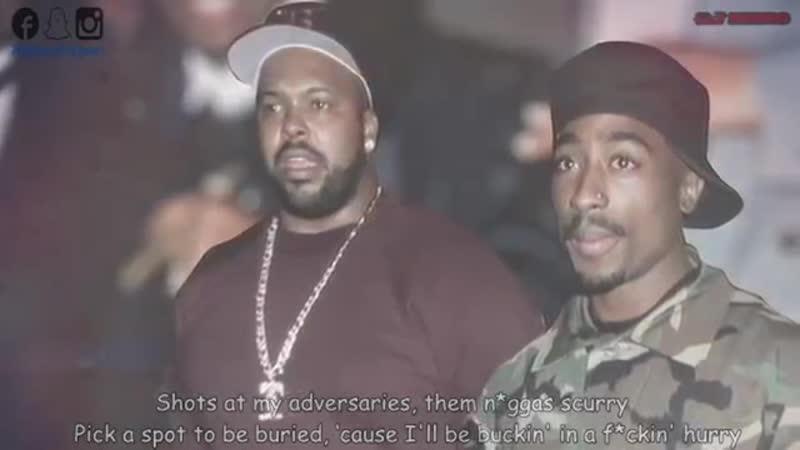2Pac - Warning Shot (Ft. Eminem Biggie Smalls) HD