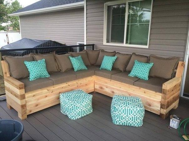 Классный диван, который можно сделать своими руками