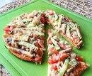 Ещё один вариант лёгкой пиццы