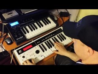 ReznikSAR - А'Studio Улетаю (Korg MicroX)