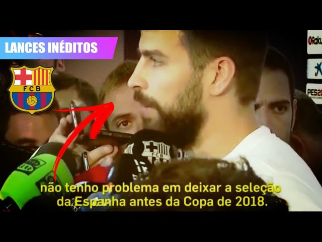 BOMBA!! PIQUÉ Chora e FALA sobre DEIXAR a SELEÇÃO DA ESPANHA! | 02/10/2017