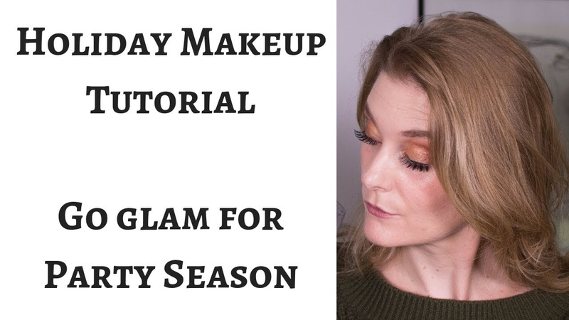 Holiday Glam Makeup Tutorial for Mature Skin