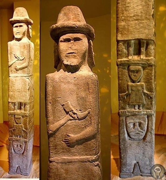 Збручский идол - о странном артефакте, найденном в 19 веке на территории современной Украины