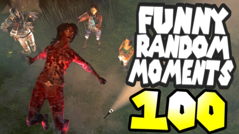 Dead by Daylight funny random moments montage 100