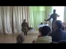 Сцена из спектакля Письма православного театра Радуйся