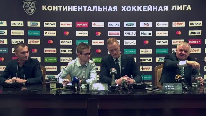 Крикунов о проблемах минского «Динамо»