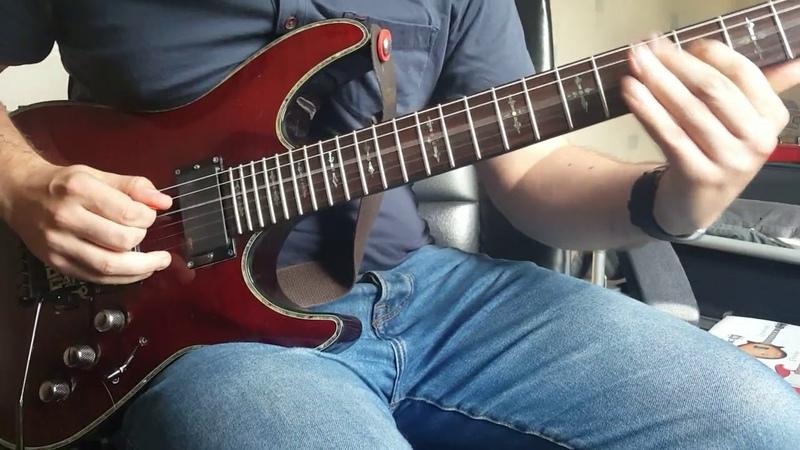 Schecter Hellraiser C1 FR -Joe Satriani - Flying in a Blue Dream