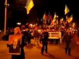 1.1.2012 Киев. Марш УПА и Свобода в честь дня рождения Бандеры