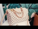 Louis Vuitton Speedy канва и кожа LUXE