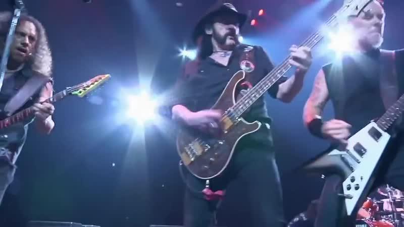 Metallica and Lemmy Damage CaseToo Late Too Late 2009