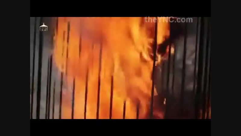 ISIS Burns Alive Jordanian Hostage in This BRUTAL Just Released Video from .mp4