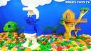 Строим из Lego Duplo Lego Duplo gnome Smurfs Лего Дупло делаем фигуру Смурфик Смурф