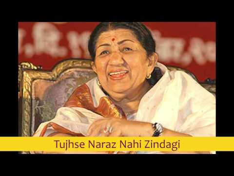 Tujhse Naraz Nahi Zindagi - Lata Mangeshkar best early 80s songs