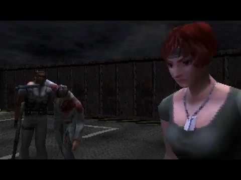 PS1 USA Dino Crisis 1 Второе прохождение 19 Стратегия Рика Сбежать через люк