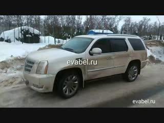 Cadillac Escalade evaковрики в салон evabel.ru
