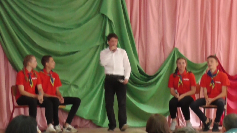 БМООСП, театрализованное представлениеобл.слетЮСПсш9,Гомель