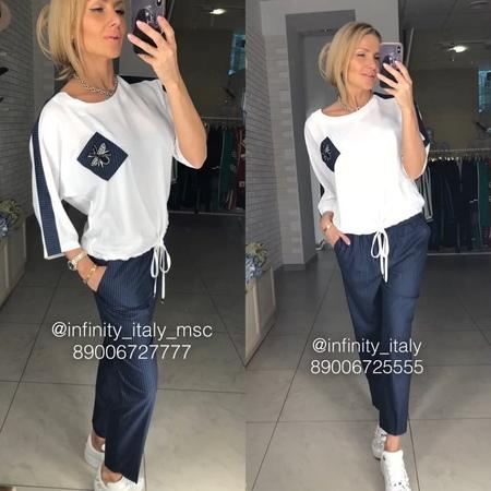 """Итальянская одежда в Москве on Instagram: """"💣new collection 💣Что в любой сезон будет актуальным? Конечно же полоска в сочетании с белым 👍🏼🔥 На @elen..."""