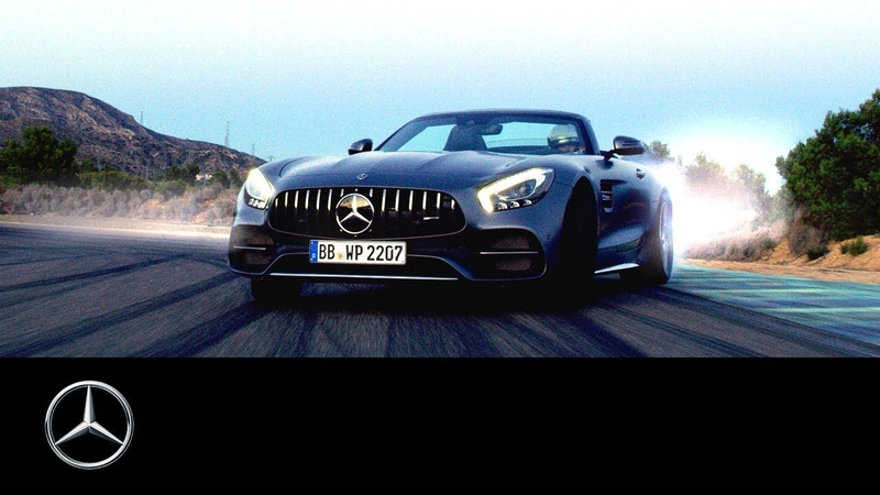 """""""Incomparable"""" feat. Mercedes-AMG GT C Roadster Mercedes-Benz 300 SL Roadster"""