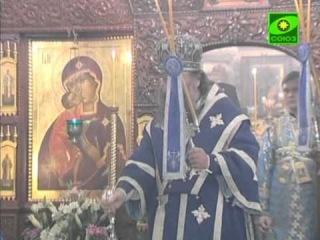 Владыка Кирилл возглавил Литургию на Ганиной Яме