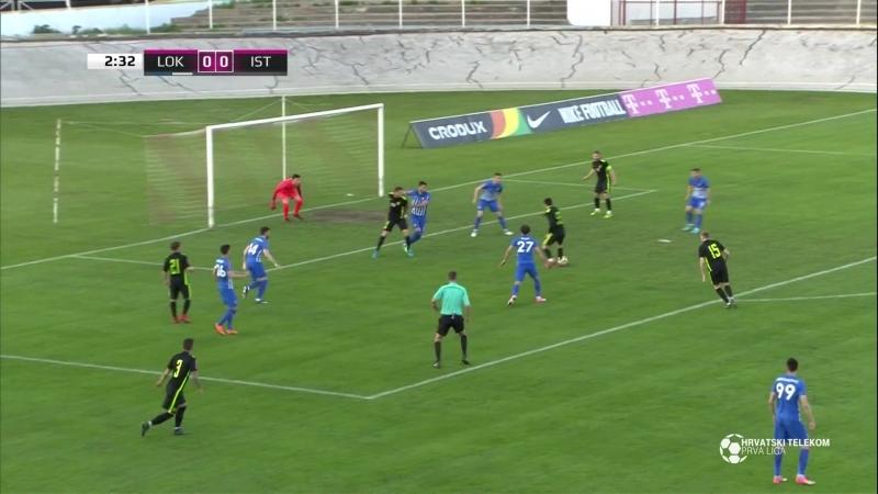 Lokomotiva - Istra 1961 0-0, sazetak (HNL 31. kolo), 22.04.2018. Full HD