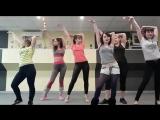Видео-поздравление мужчинам с 23 февраля от девушек студии танцев