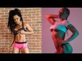 Crazy & Strong Bikini Model Lola Montez - ABS Workout / Female Fitness Motivation
